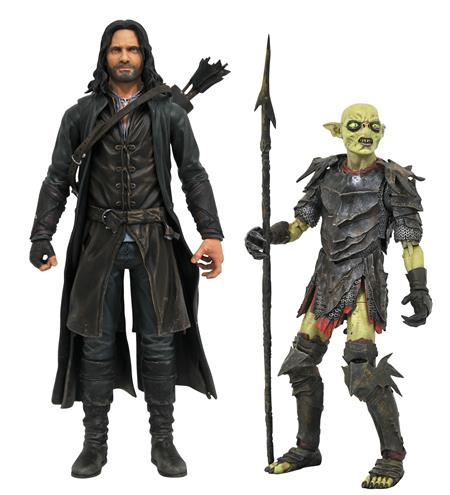 LORD OF THE RINGS DLX SERIES 3 FIGURE ASST (C: 1-1-2)