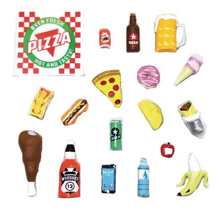 SUPER ACTION STUFF SUPER FOODIE ACTION FIGURE ACCESSORY SET