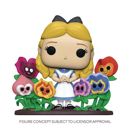 POP DELUXE ALICE 70TH ALICE W/ FLOWERS VINYL FIGURE (C: 1-1-