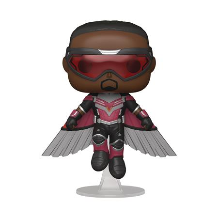 POP FALCON AND WINTER SOLDIER FALCON FLYING VIN FIG (C: 1-1-