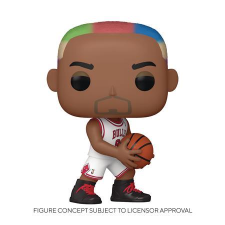 POP NBA LEGENDS DENNIS RODMAN BULLS HOME VIN FIG (C: 1-1-2)
