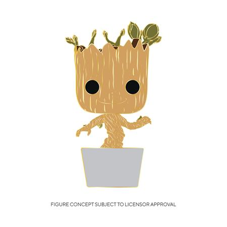 POP PINS BABY GROOT W/ CHASE (C: 1-1-2)