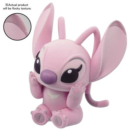 DISNEY LILO & STITCH FLUFFY PUFFY ANGEL FIG (C: 1-1-2)