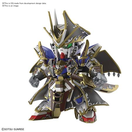 SD GUNDAM WORLD HEROES 04 BENJAMIN V2 GUNDAM MODEL KIT (Net)
