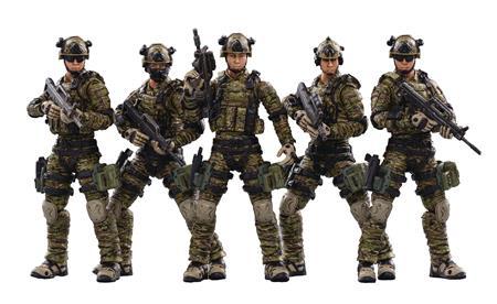 JOY TOY PLA ARMY GROUND FORCE 1/18 FIGURE 5PK (Net) (C: 0-1-