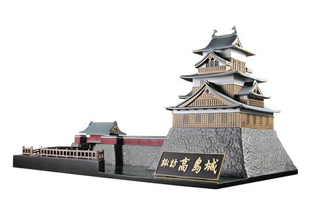 CASTLE COLLECTION SUWA TAKASHIMA CASTLE PLASTIC MDL KIT (C: