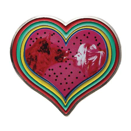 DC BIRDS OF PREY HARLEY QUINN & HYENA HEART PIN (C: 1-1-2)