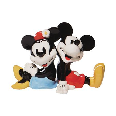 DISNEY MICKEY AND MINNIE MOUSE SALT & PEPPER SHAKER (C: 1-1-