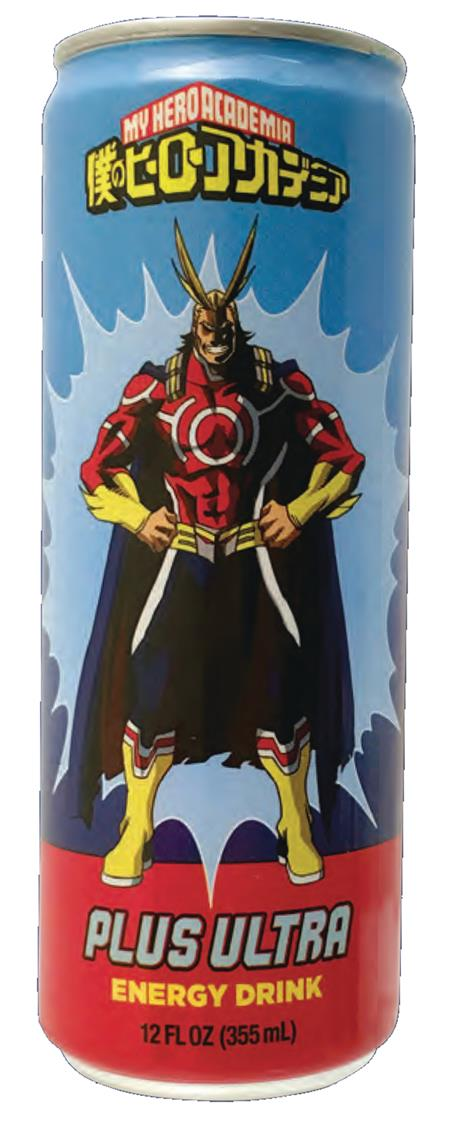 MY HERO ACADEMIA PLUS ULTRA ENERGY DRINK 12CT CS (Net) (C: 1