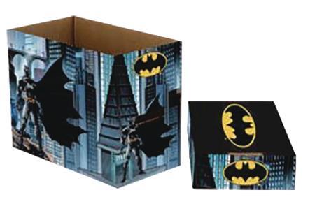 DC COMICS BATMAN 5 PK SHORT COMIC STORAGE BOX (C: 1-1-2)