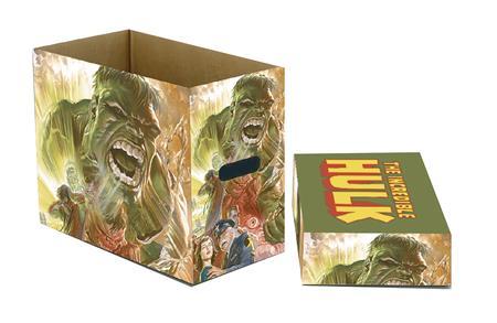 MARVEL HULK GREEN GOLIATH 5PK SHORT COMIC STORAGE BOX (C: 1-