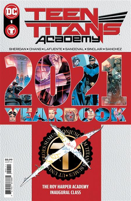 TEEN TITANS ACADEMY 2021 YEARBOOK #1 CVR A VARIOUS