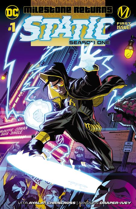 STATIC SEASON ONE #1 CVR A KHARY RANDOLPH