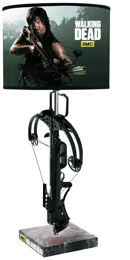 Walking Dead Crossbow Table Lamp C 1 1 2 Discount Comic Book Service