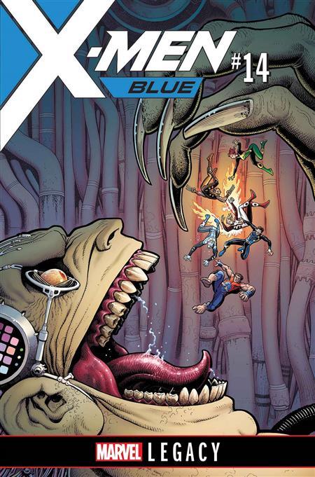 X-MEN BLUE #14 LEG