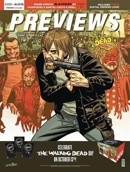 PREVIEWS #361 OCTOBER 2018 * Includes a FREE DC Previews
