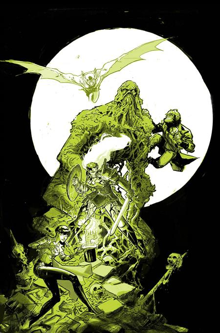 JUSTICE LEAGUE DARK #4 FOIL (WITCHING HOUR)
