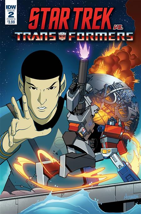 STAR TREK VS TRANSFORMERS #2 (OF 4) CVR A MURPHY