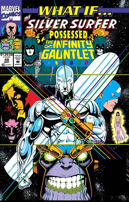 TRUE BELIEVERS WHAT IF SILVER SURFER POSSESSED GAUNTLET #1