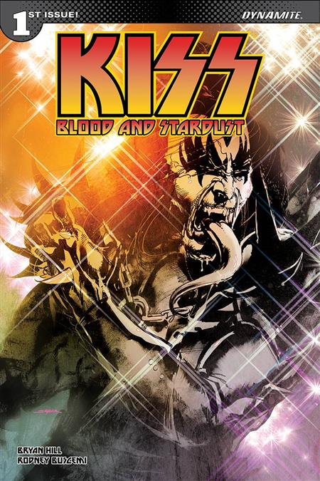 KISS BLOOD STARDUST #1 50 COPY SAYGER DEMON SGN INCV (Net)