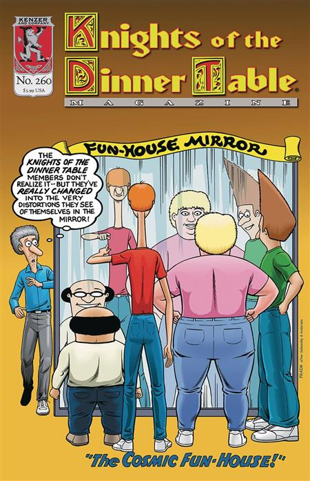 Knights of The Dinner Table #260 - Discount Comic Book ...