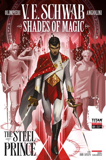 SHADES OF MAGIC #1 (OF 4) STEEL PRINCE CVR A IANNICIELLO