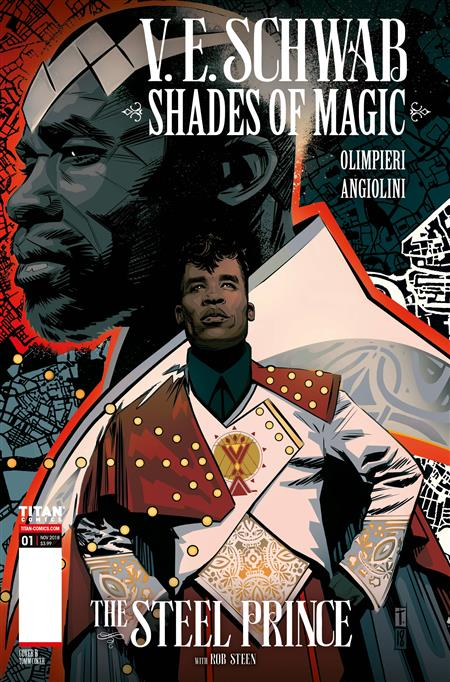 SHADES OF MAGIC #1 (OF 4) STEEL PRINCE CVR B COKER