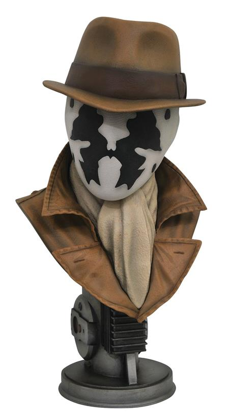 LEGENDARY FILM WATCHMEN RORSCHACH 1/2 SCALE BUST (C: 1-1-2)