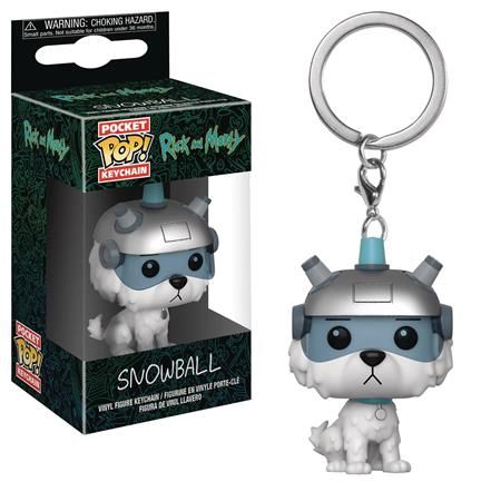 POCKET POP R&M SNOWBALL FIG KEYCHAIN (C: 1-1-2)