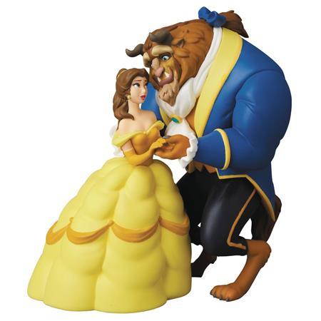 DISNEY BEAUTY & THE BEAST BELLE & BEAST UDF FIG SERIES 7 (C: