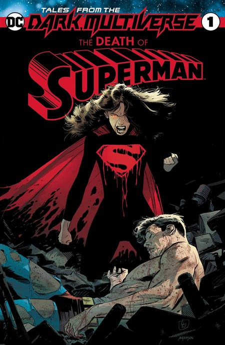 TALES FROM THE DARK MULTIVERSE DEATH OF SUPERMAN #1