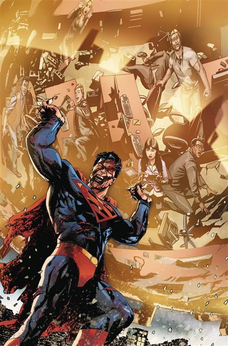 SUPERMAN #16 VAR ED YOTV