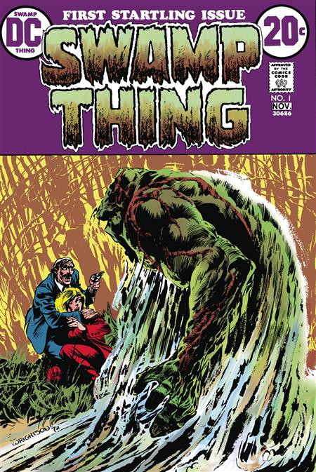 DOLLAR COMICS SWAMP THING #1