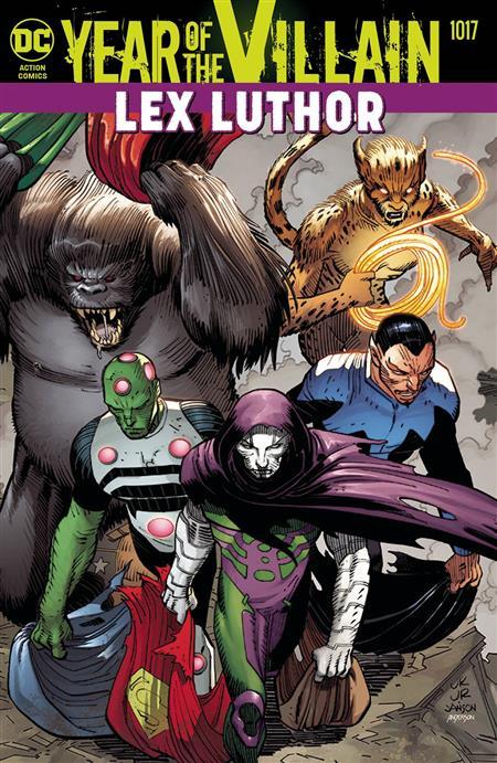 ***August 2019 DC Universe Acetate Cover Bundle***  * LIMIT 2 PER CUSTOMER*
