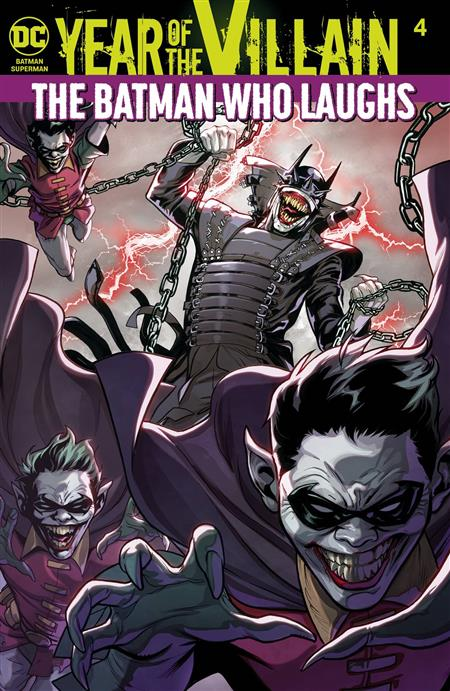 BATMAN SUPERMAN #4 YOTV