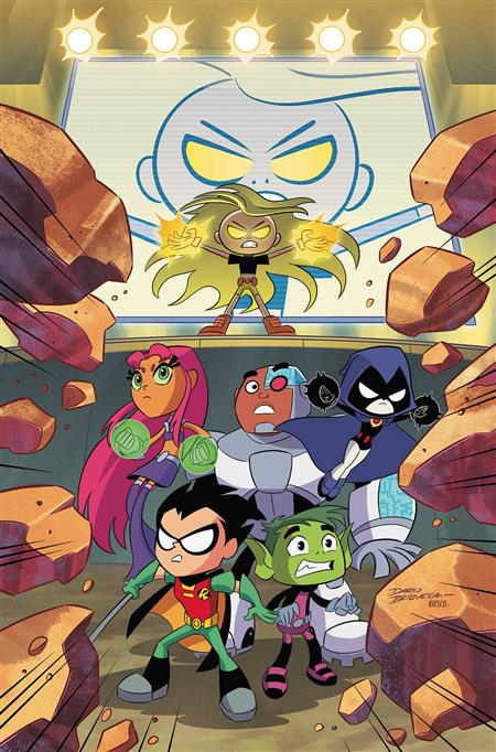 TEEN TITANS GO TP WEIRDER THINGS