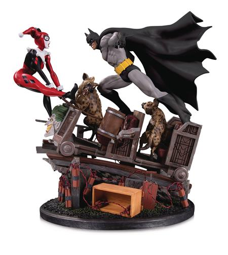 BATMAN VS HARLEY QUINN BATTLE STATUE SECOND EDITION