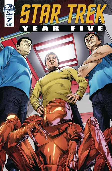 STAR TREK YEAR FIVE #7 CVR A THOMPSON