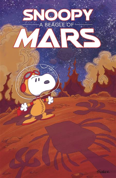 SNOOPY BEAGLE OF MARS ORIGINAL GN PEANUTS (C: 0-1-2)
