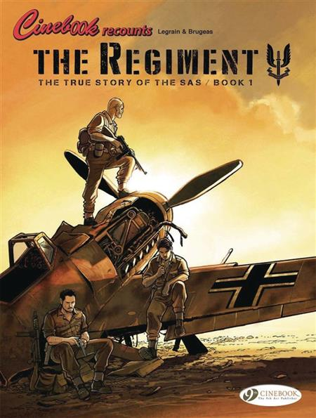 REGIMENT TRUE STORY OF SAS GN VOL 01 (C: 1-1-0)