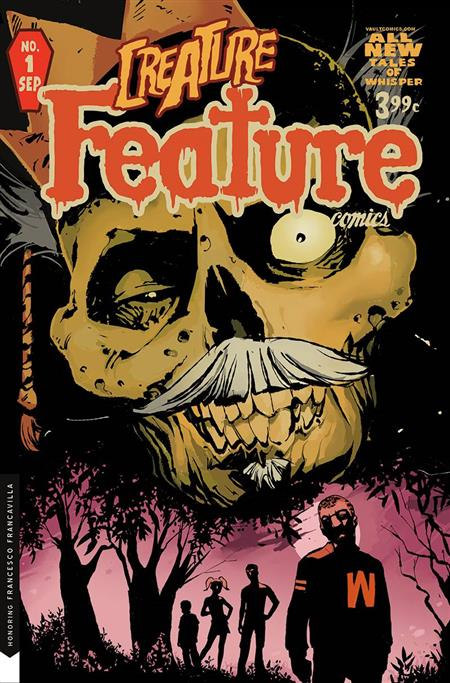 CULT CLASSIC CREATURE FEATURE #1 CVR B TIM DANIEL (MR)