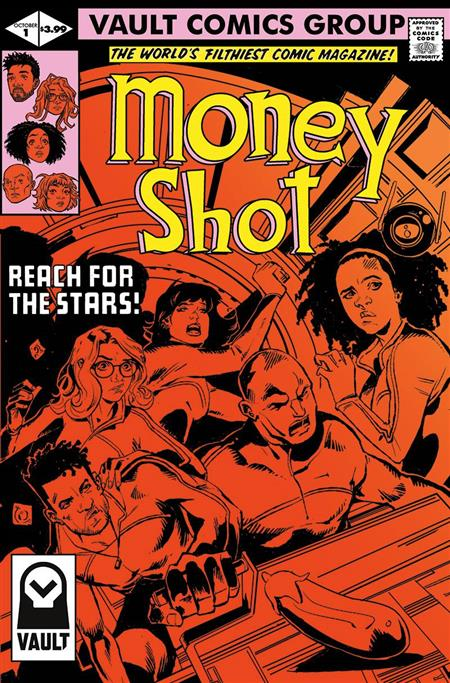 MONEY SHOT #1 CVR B TIM DANIEL (MR)