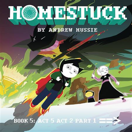 HOMESTUCK HC VOL 05 ACT 5 ACT 2 PART 1 (C: 1-0-1)