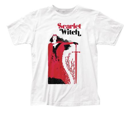 MARVEL HEROES SCARLET WITCH PX SWORD COVER T/S LG (C: 1-1-2)