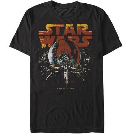 STAR WARS COSMIC VADER LOGO T/S LG (C: 1-1-2)