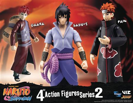 NARUTO SHIPPUDEN 4IN POSEABLE AF ASST S2 (C: 1-1-2)