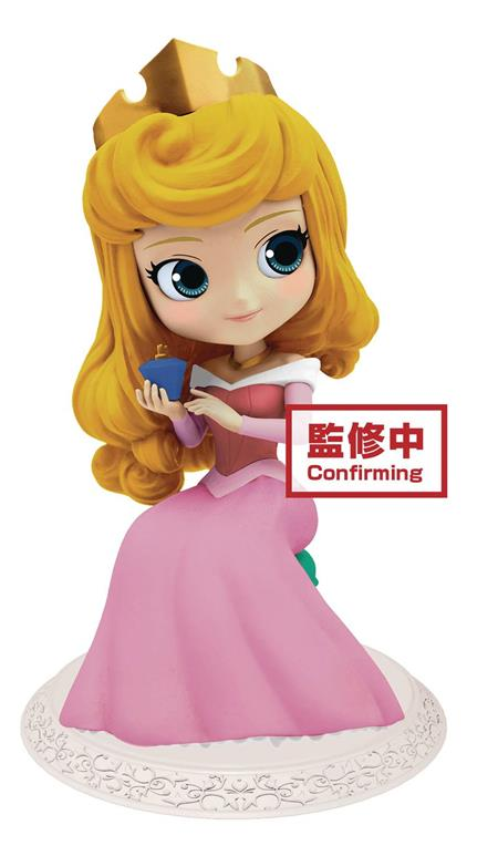 DISNEY Q-POSKET PRINCESS AURORA PERFUMAGIC FIG (C: 1-1-2)