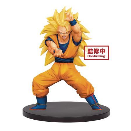 DB SUPER CHOSENSHIRETSUDEN V4 SUPER SAIYAN 3 SON GOKU FIG (C