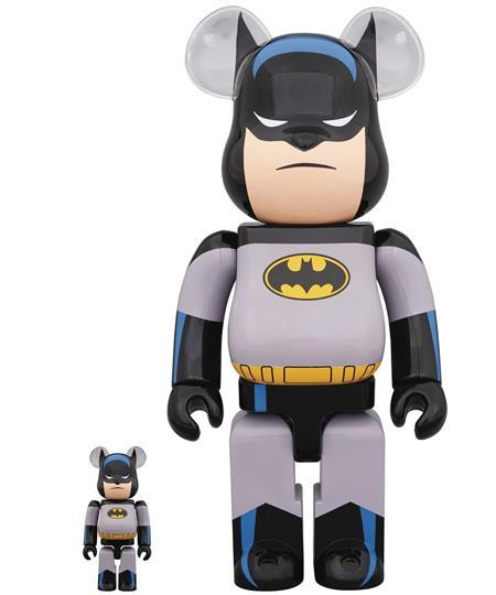 BATMAN THE ANIMATED SERIES BATMAN 100% & 400% BEA 2PK (C: 1-