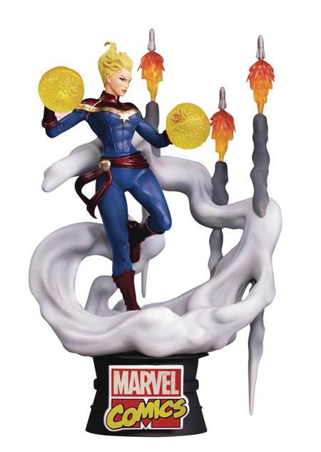 MARVEL COMICS CAPTAIN MARVEL DS-019 D-STAGE PX 6IN STATUE (C